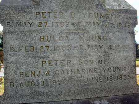 YOUNG, PETER - Schoharie County, New York | PETER YOUNG - New York Gravestone Photos