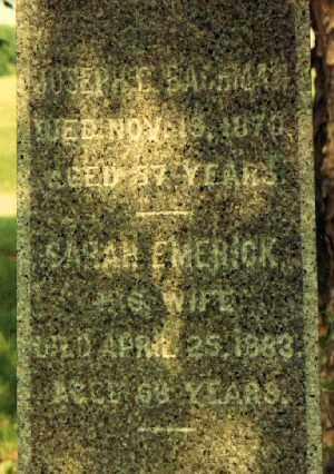 BACHMAN, JOSEPH C. - Seneca County, New York | JOSEPH C. BACHMAN - New York Gravestone Photos