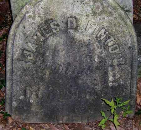 FINTON, JAMES D. - Seneca County, New York | JAMES D. FINTON - New York Gravestone Photos