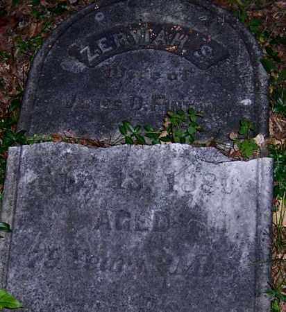 FINTON, ZERVIAH S. - Seneca County, New York   ZERVIAH S. FINTON - New York Gravestone Photos