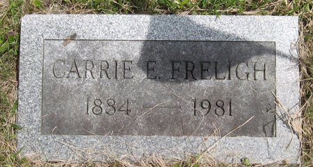 FRELIGH, CARRIE E. - Seneca County, New York | CARRIE E. FRELIGH - New York Gravestone Photos