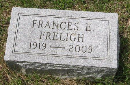 FRELIGH, FRANCES E. - Seneca County, New York | FRANCES E. FRELIGH - New York Gravestone Photos