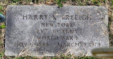 FRELIGH, HARRY K. - Seneca County, New York   HARRY K. FRELIGH - New York Gravestone Photos