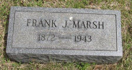 MARSH, FRANK J. - Seneca County, New York   FRANK J. MARSH - New York Gravestone Photos