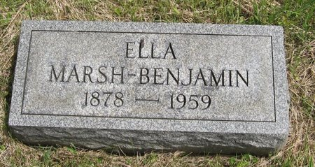 MARSH, ELLA - Seneca County, New York | ELLA MARSH - New York Gravestone Photos