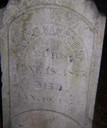 VAN HORNE, JOHN D. - Seneca County, New York | JOHN D. VAN HORNE - New York Gravestone Photos