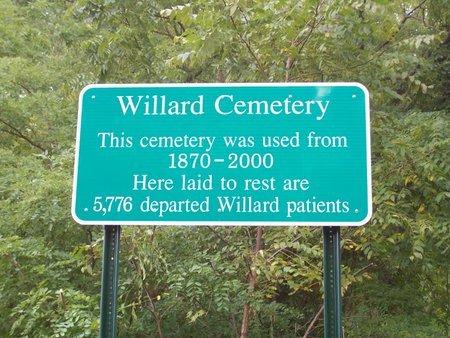 VIEW, CEMETERY SIGN - Seneca County, New York | CEMETERY SIGN VIEW - New York Gravestone Photos