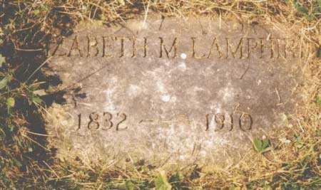 LAMPHIER, SARAH ELIZABETH - Steuben County, New York | SARAH ELIZABETH LAMPHIER - New York Gravestone Photos