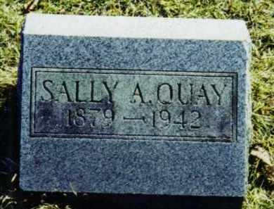 QUAY, SALLY ADELINE - Steuben County, New York | SALLY ADELINE QUAY - New York Gravestone Photos