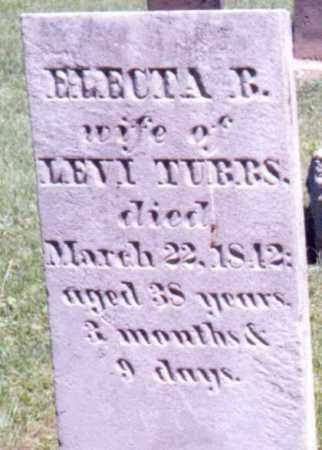 TUBBS, ELECTA B. - Steuben County, New York   ELECTA B. TUBBS - New York Gravestone Photos
