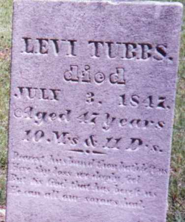 TUBBS, LEVI - Steuben County, New York | LEVI TUBBS - New York Gravestone Photos