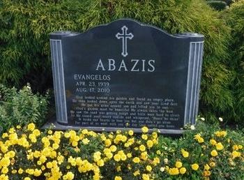 ABAZIS, EVANGELOS - Suffolk County, New York | EVANGELOS ABAZIS - New York Gravestone Photos