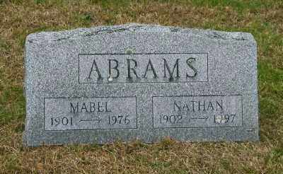 ABRAMS, NATHAN - Suffolk County, New York | NATHAN ABRAMS - New York Gravestone Photos