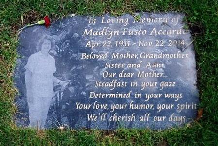 ACCARDO, MADLYN - Suffolk County, New York | MADLYN ACCARDO - New York Gravestone Photos