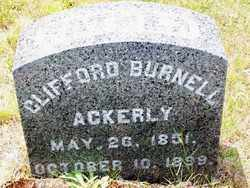 ACKERLY, CLIFFORD BURNELL - Suffolk County, New York | CLIFFORD BURNELL ACKERLY - New York Gravestone Photos