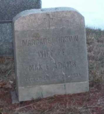 BROWN, MARGARET - Suffolk County, New York | MARGARET BROWN - New York Gravestone Photos