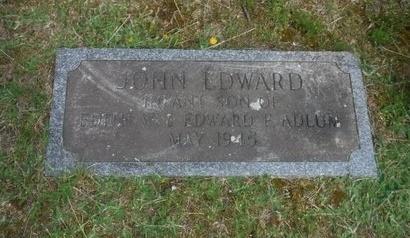ADLUM, JOHN EDWARD - Suffolk County, New York | JOHN EDWARD ADLUM - New York Gravestone Photos