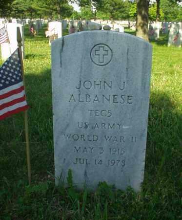 ALBANESE (WWII), JOHN J - Suffolk County, New York | JOHN J ALBANESE (WWII) - New York Gravestone Photos