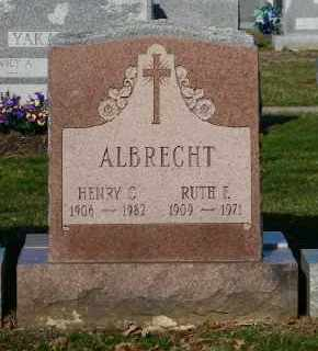 ALBRECHT, RUTH F. - Suffolk County, New York | RUTH F. ALBRECHT - New York Gravestone Photos