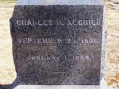 ALDRICH, CHARLES H - Suffolk County, New York | CHARLES H ALDRICH - New York Gravestone Photos