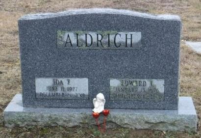 ALDRICH, EDWARD L - Suffolk County, New York | EDWARD L ALDRICH - New York Gravestone Photos