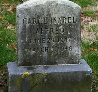 ALFRED, CAROL - Suffolk County, New York | CAROL ALFRED - New York Gravestone Photos