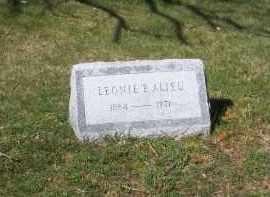 ALIEU, LEONIE B. - Suffolk County, New York   LEONIE B. ALIEU - New York Gravestone Photos