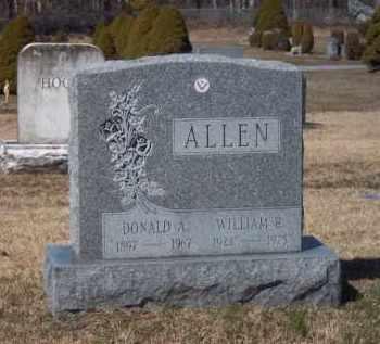 ALLEN, WILLIAM - Suffolk County, New York | WILLIAM ALLEN - New York Gravestone Photos