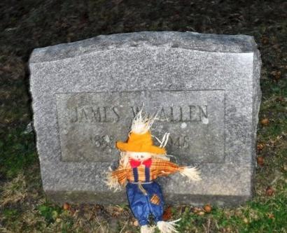 ALLEN, JAMES W - Suffolk County, New York | JAMES W ALLEN - New York Gravestone Photos