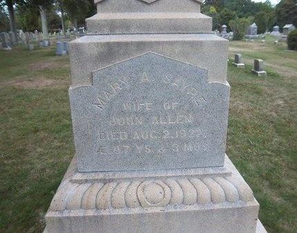 SAYRE, MARY A - Suffolk County, New York | MARY A SAYRE - New York Gravestone Photos