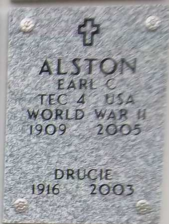ALSTON, EARL C - Suffolk County, New York | EARL C ALSTON - New York Gravestone Photos