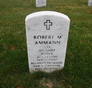 AMMANN (KOR), ROBERT M - Suffolk County, New York | ROBERT M AMMANN (KOR) - New York Gravestone Photos