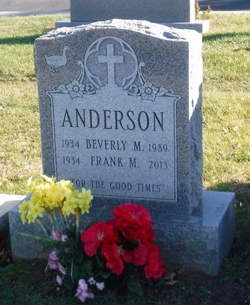 ANDERSON, BEVERLY M - Suffolk County, New York | BEVERLY M ANDERSON - New York Gravestone Photos