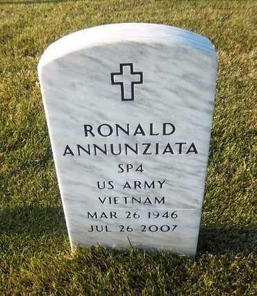 ANNUNZIATA (VN), RONALD - Suffolk County, New York   RONALD ANNUNZIATA (VN) - New York Gravestone Photos