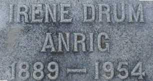 ANRIG, IRENE - Suffolk County, New York | IRENE ANRIG - New York Gravestone Photos