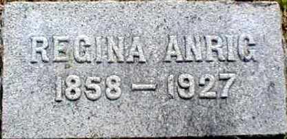 ANRIG, REGINA - Suffolk County, New York | REGINA ANRIG - New York Gravestone Photos