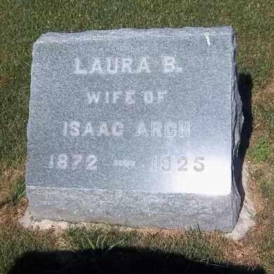 ARCH, LAURA B. - Suffolk County, New York | LAURA B. ARCH - New York Gravestone Photos