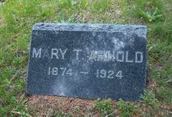 ARNOLD, MARY T - Suffolk County, New York | MARY T ARNOLD - New York Gravestone Photos