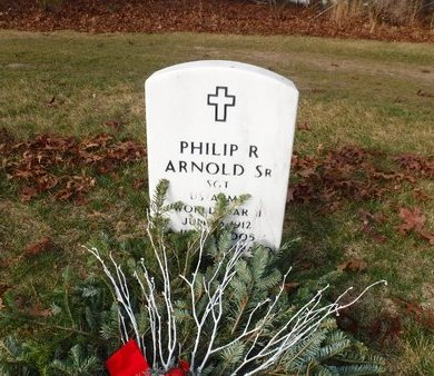 ARNOLD (WWII), PHILIP R - Suffolk County, New York | PHILIP R ARNOLD (WWII) - New York Gravestone Photos