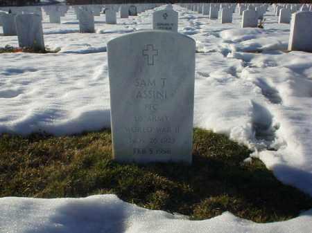 ASSINI, SAM T - Suffolk County, New York | SAM T ASSINI - New York Gravestone Photos