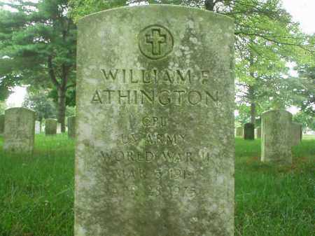 ATHINGTON, WILLIAM F - Suffolk County, New York | WILLIAM F ATHINGTON - New York Gravestone Photos