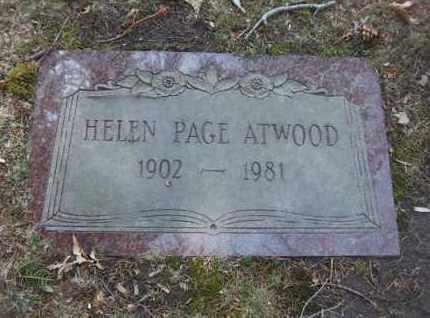 ATWOOD, HELEN - Suffolk County, New York | HELEN ATWOOD - New York Gravestone Photos