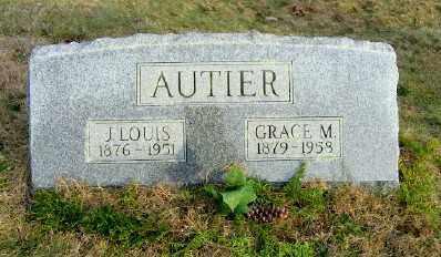 AUTIER, J. LOUIS - Suffolk County, New York   J. LOUIS AUTIER - New York Gravestone Photos