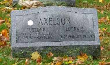AXELSON (WWII), GUSTAV H - Suffolk County, New York | GUSTAV H AXELSON (WWII) - New York Gravestone Photos