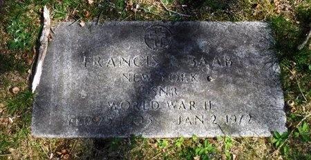 BAAB (WWII), FRANCIS P - Suffolk County, New York | FRANCIS P BAAB (WWII) - New York Gravestone Photos