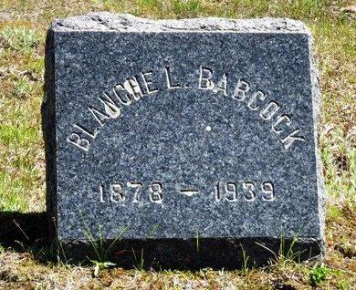 BABCOCK, BLANCHE L - Suffolk County, New York | BLANCHE L BABCOCK - New York Gravestone Photos