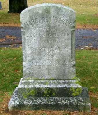 BAKER, MARGARET - Suffolk County, New York   MARGARET BAKER - New York Gravestone Photos