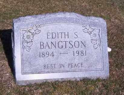 BANGSTON, EDITH - Suffolk County, New York | EDITH BANGSTON - New York Gravestone Photos