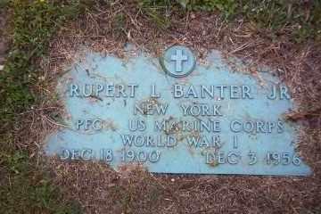 BANTER (WWI), RUPERT L., JR - Suffolk County, New York   RUPERT L., JR BANTER (WWI) - New York Gravestone Photos