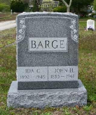 BARGE, JOHN H - Suffolk County, New York | JOHN H BARGE - New York Gravestone Photos